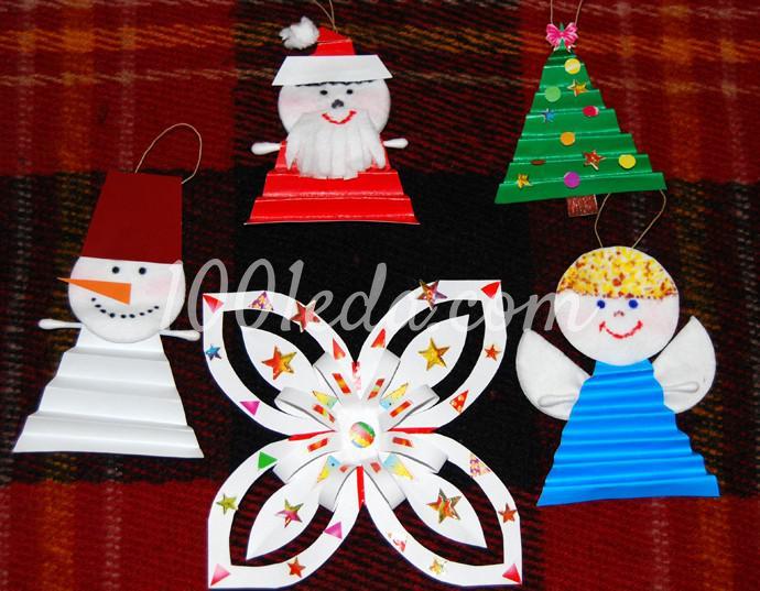 Поделки к новогоднему столу своими руками - Фото №1