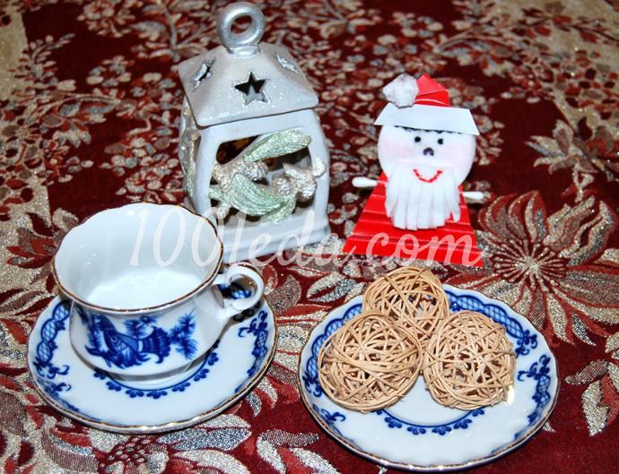 Поделки к новогоднему столу своими руками - Фото №36