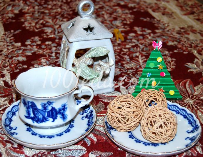 Поделки к новогоднему столу своими руками - Фото №37