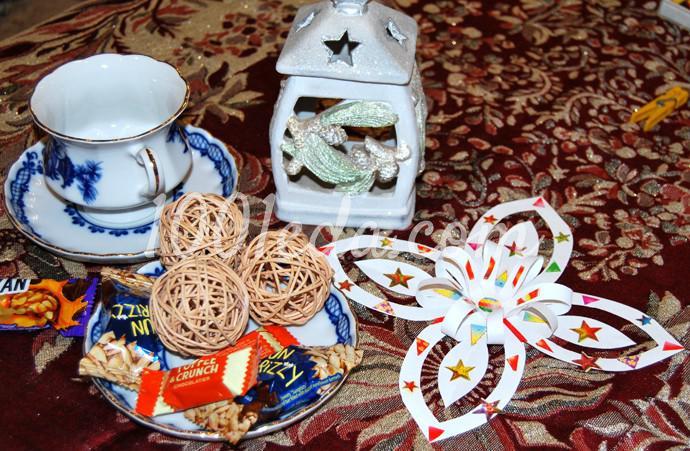Поделки к новогоднему столу своими руками - Фото №38