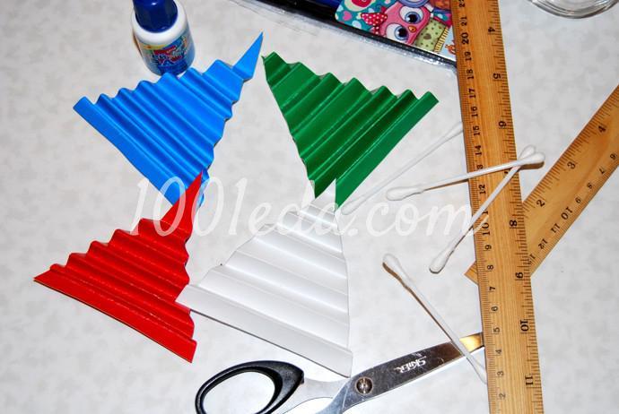 Поделки к новогоднему столу своими руками - Фото №4