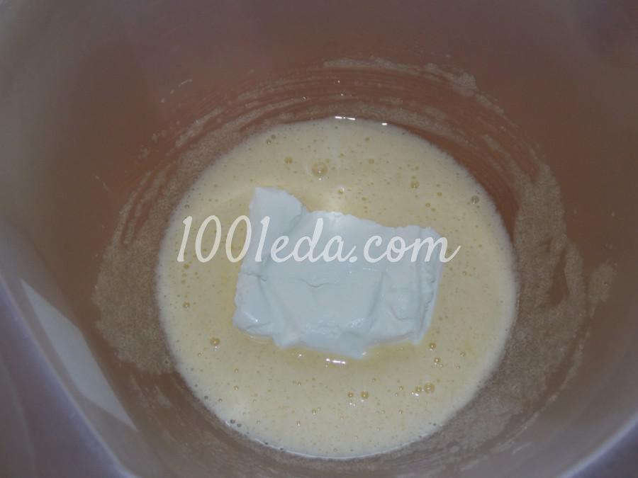 Творожный пирог с клюквой и изюмом: пошаговое фото - Шаг №2
