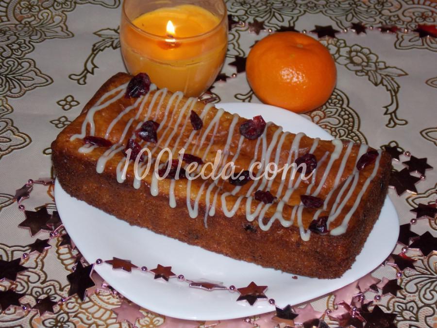 Творожный пирог с клюквой и изюмом: пошаговое фото