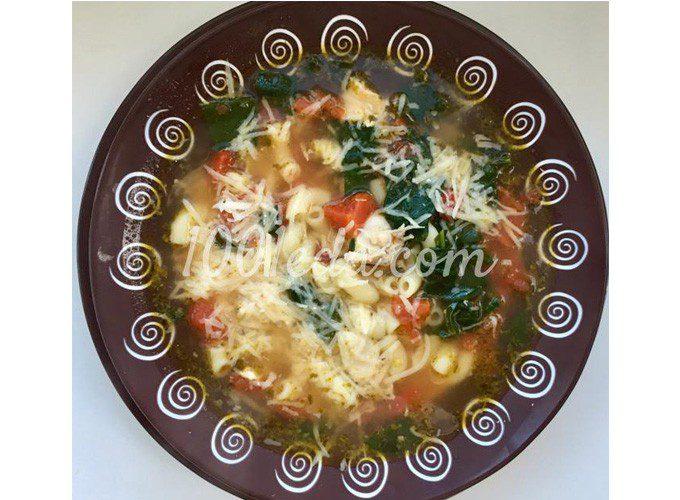 Флорентийский суп с курицей и томатами: пошаговый с фото