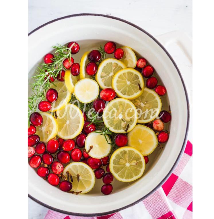 Согревающий цитрусовый напиток Попурри