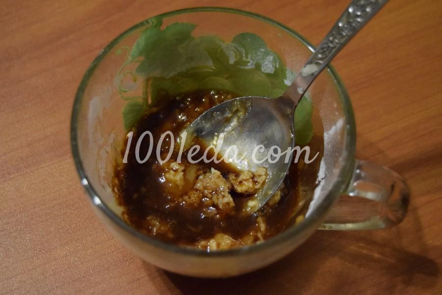 Праздничная курица с ананасами на сковороде: пошаговый с фото - Шаг №6