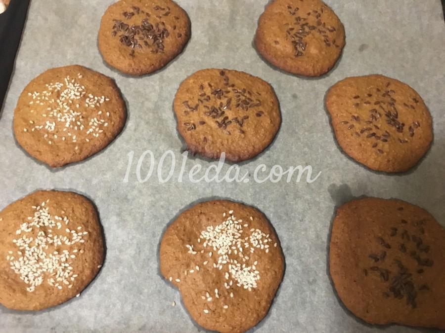 Постное овсяное печенье на рассоле