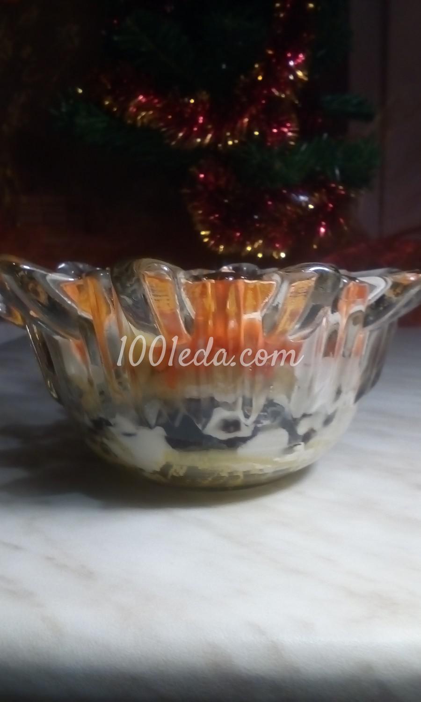 Салат фруктово-овощной с курагой, черносливом и сыром: пошаговый с фото