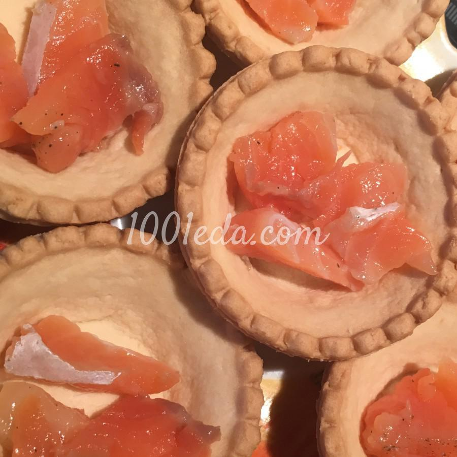 Тарталетки с лососем и сыром маскарпоне: пошаговый с фото - Шаг №2