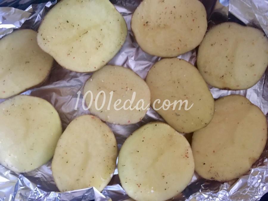 Картофель запечённый в мундире с начинкой: пошаговый с фото - Шаг №2