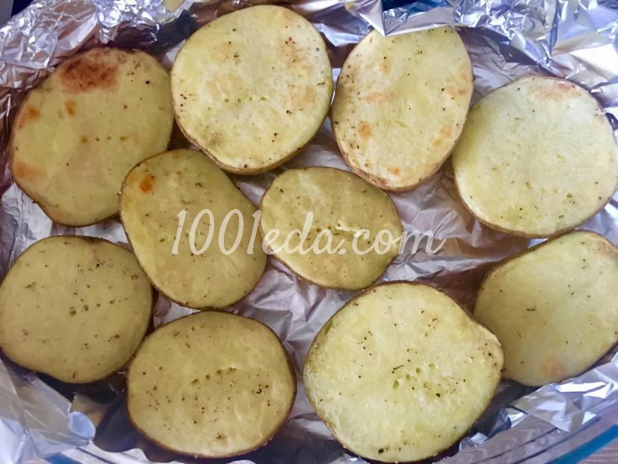 Картофель запечённый в мундире с начинкой: пошаговый с фото - Шаг №5