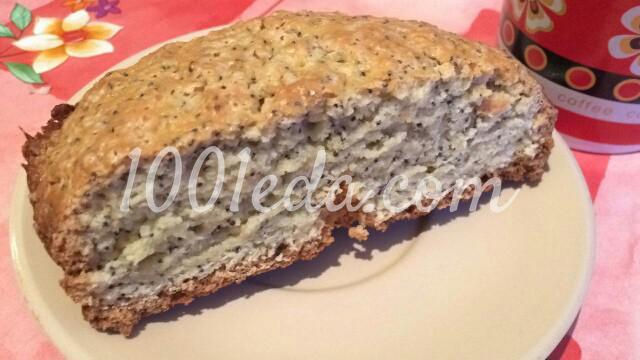 Маковый кекс в хлебопечке
