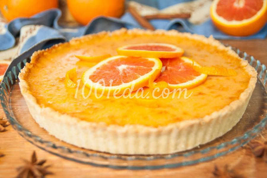 Тарт из красных апельсинов: пошаговое фото