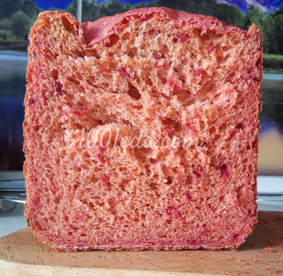 Свекольный хлеб в хлебопечке: пошаговое фото