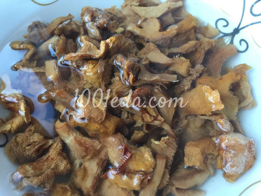 Яичные блинчики, фаршированные грибами: пошаговое фото - Шаг №3