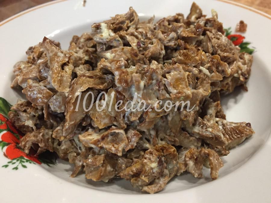 Яичные блинчики, фаршированные грибами: пошаговое фото - Шаг №6