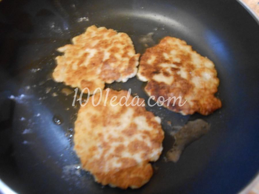 Сочные куриные котлеты для бургера: пошаговый с фото - Шаг №7