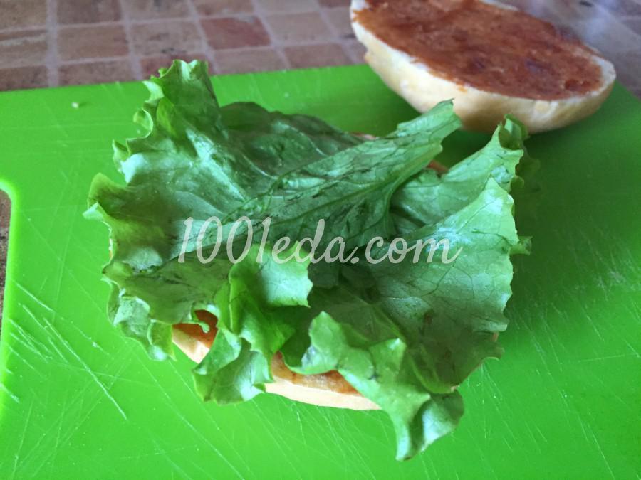 Сочный чизбургер: пошаговый с фото - Шаг №3