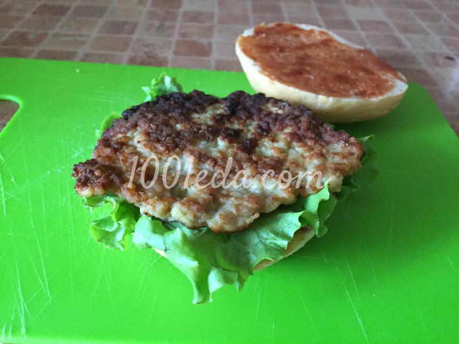 Сочный чизбургер: пошаговый с фото - Шаг №4
