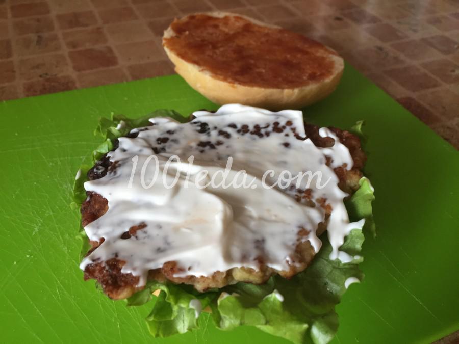 Сочный чизбургер: пошаговый с фото - Шаг №5