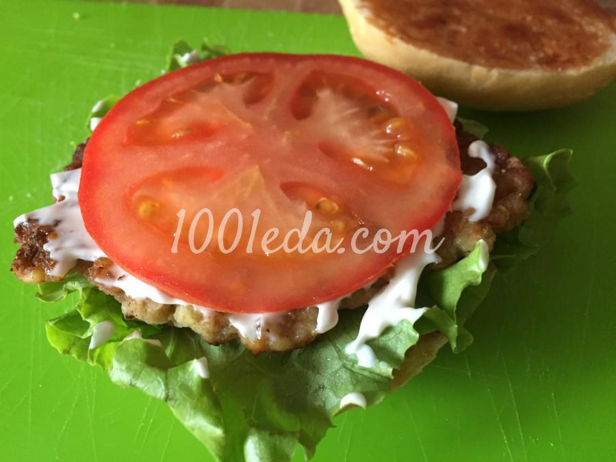 Сочный чизбургер: пошаговый с фото - Шаг №6