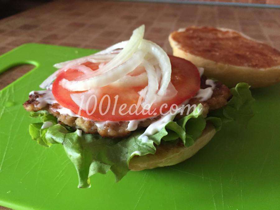Сочный чизбургер: пошаговый с фото - Шаг №7