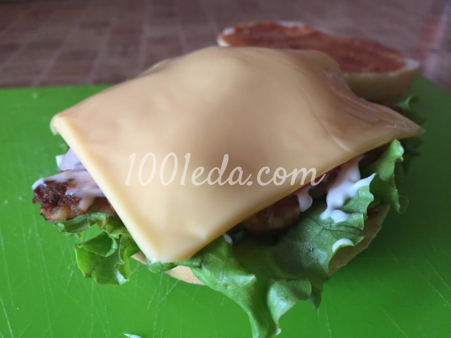 Сочный чизбургер: пошаговый с фото - Шаг №8