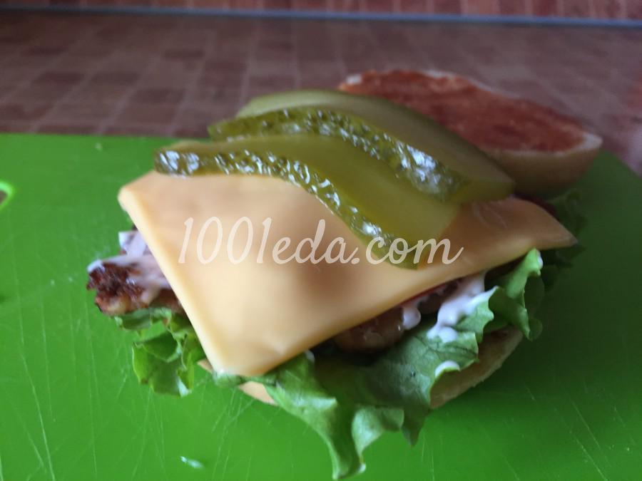 Сочный чизбургер: пошаговый с фото - Шаг №9