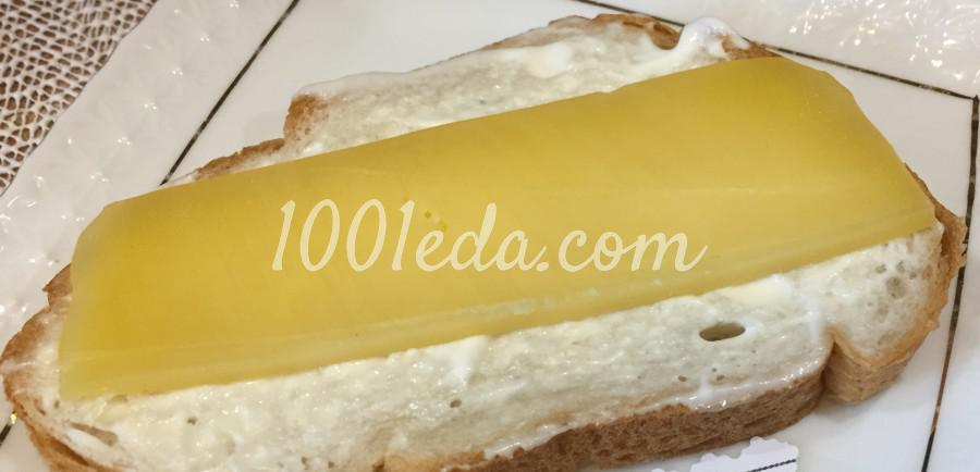 Питательные бутерброды с ветчиной: пошаговое фото - Шаг №2