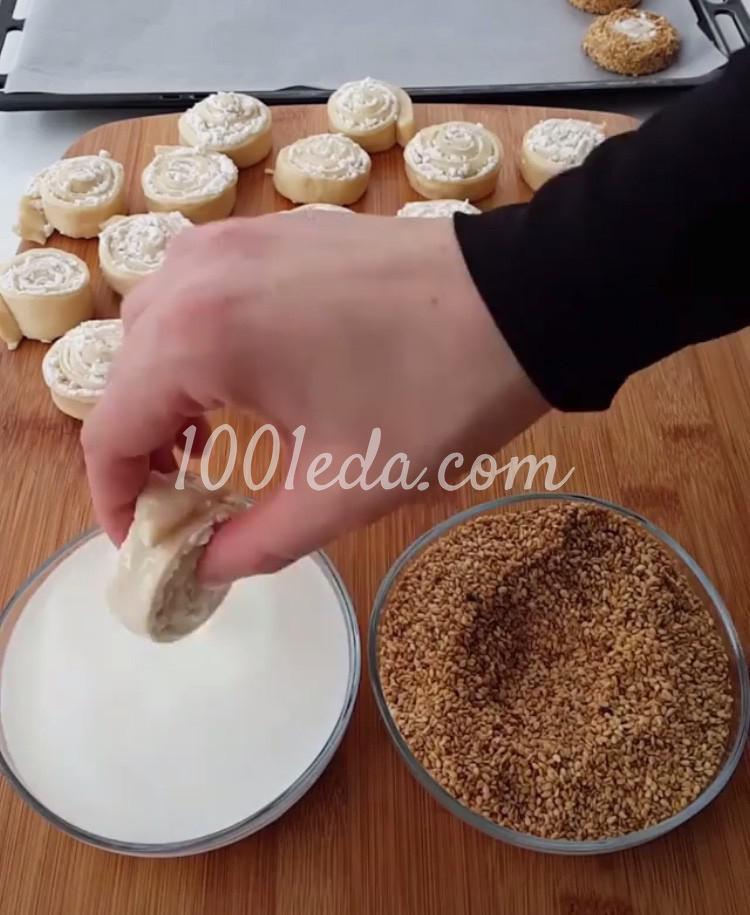 Булочки с сыром: пошаговый с фото - Шаг №7