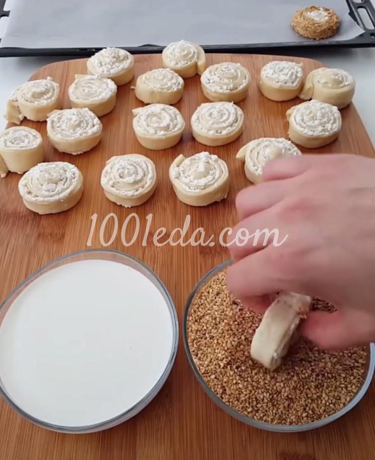 Булочки с сыром: пошаговый с фото - Шаг №8