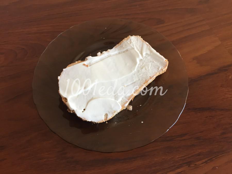 Быстрый сэндвич с колбасой: пошаговый с фото - Шаг №1