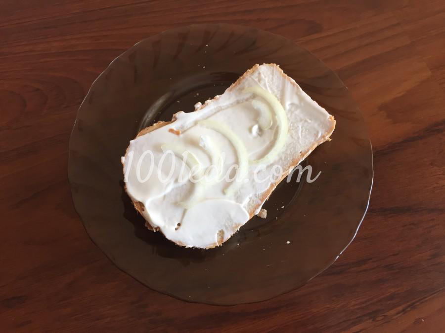 Быстрый сэндвич с колбасой: пошаговый с фото - Шаг №2