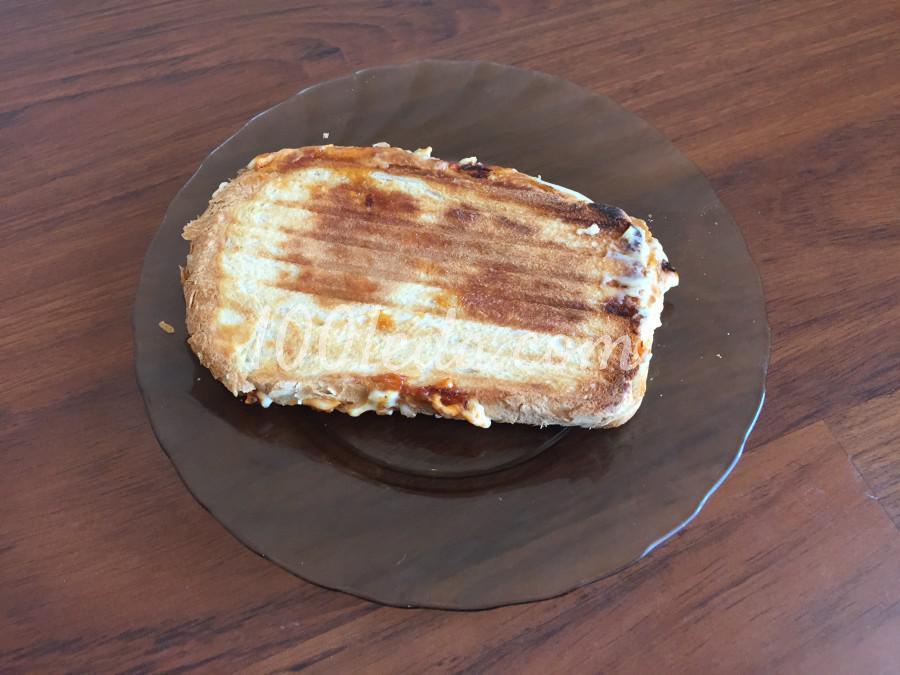 Быстрый сэндвич с колбасой: пошаговый с фото - Шаг №9