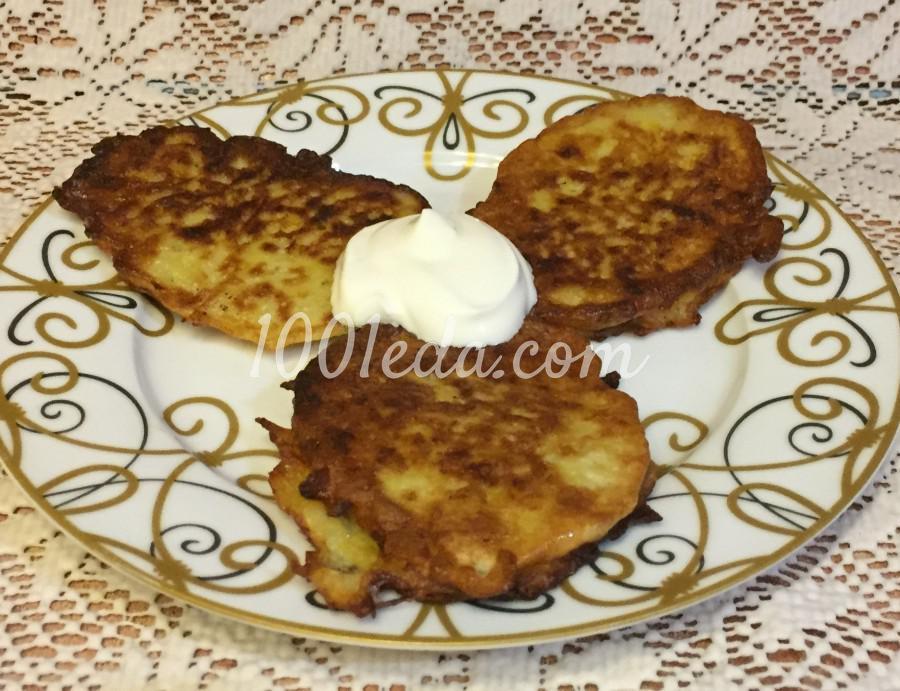 Картофельные драники с тертым луком: пошаговый с фото