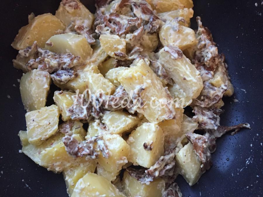 Картофель с грибами: пошаговый с фото - Шаг №6