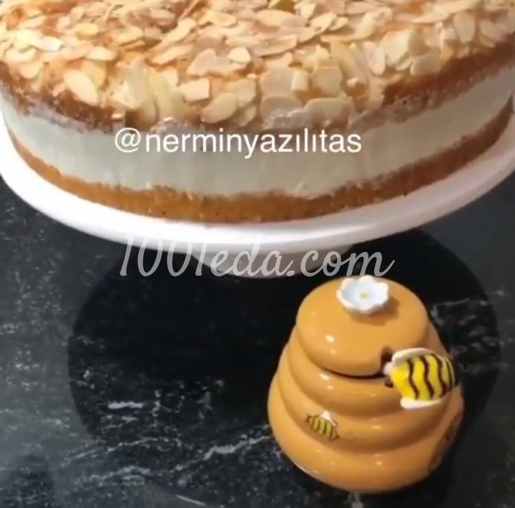 Миндальный торт: пошаговое фото - Шаг №8