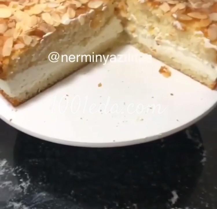 Миндальный торт: пошаговое фото
