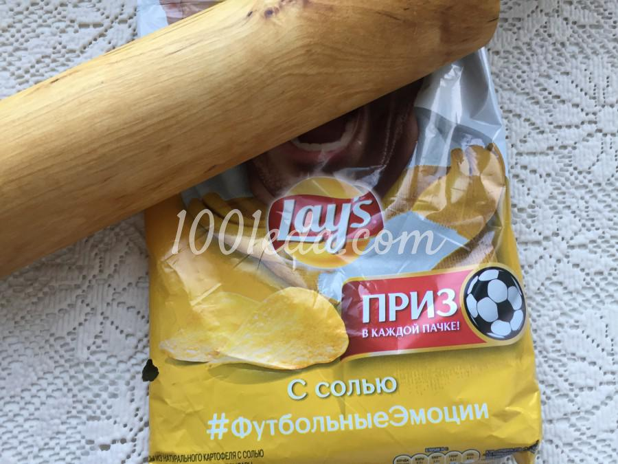 Куриные голени в чипсах: пошаговое фото - Шаг №2