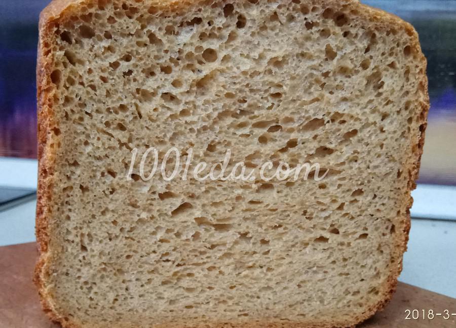 Гречневый хлеб на пиве в хлебопечке: пошаговое фото