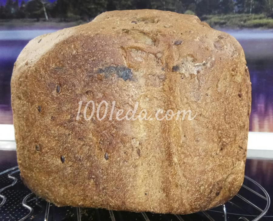 Хлеб с семенами в хлебопечке: пошаговый с фото
