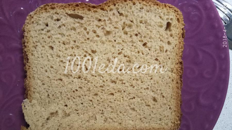 Ржаной хлеб на молоке в хлебопечке: пошаговый с фото