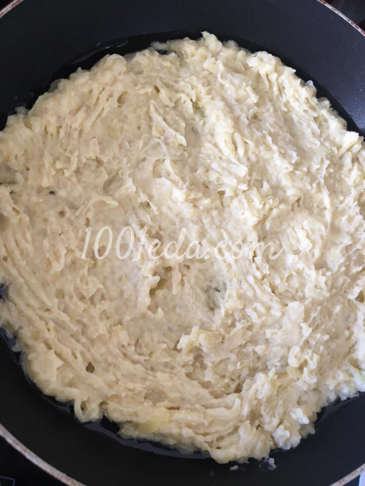 Быстрый картофельный пирог с ветчиной и сыром: пошаговый с фото - Шаг №3
