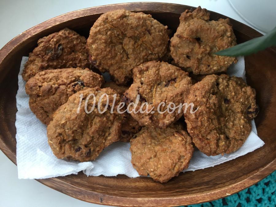 Овсяное печенье без муки и масла