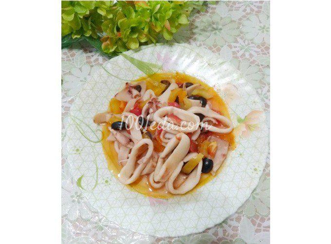 """Горячая закуска из кальмаров """"Пикантная"""""""
