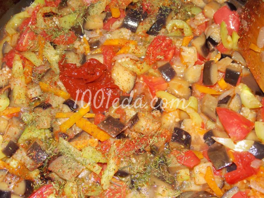 Суп из баклажанов с чечевицей: пошаговый с фото - Шаг №10