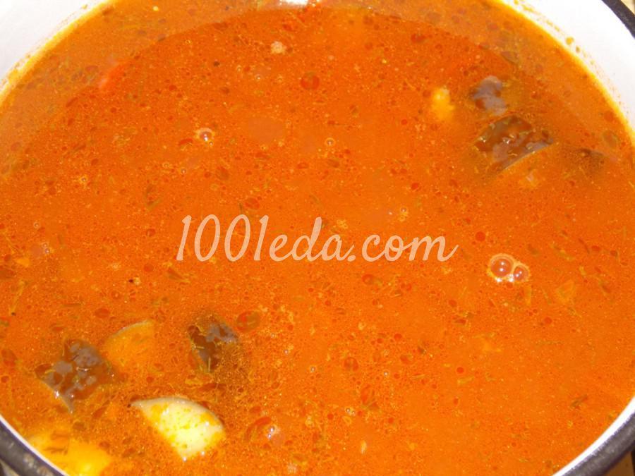 Суп из баклажанов с чечевицей: пошаговый с фото - Шаг №12