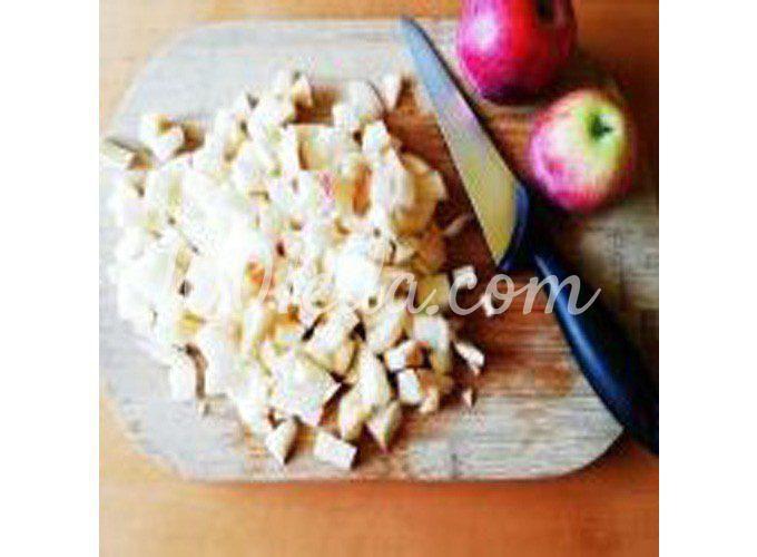 Осенний яблочный мусс