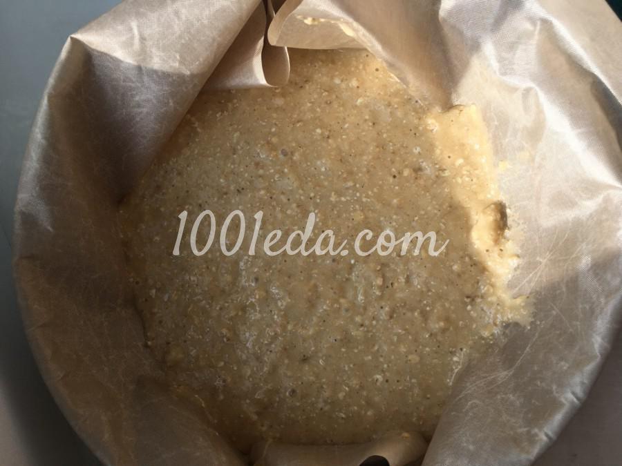 Яблочный пирог с овсянкой и корицей: пошаговый с фото - Шаг №5