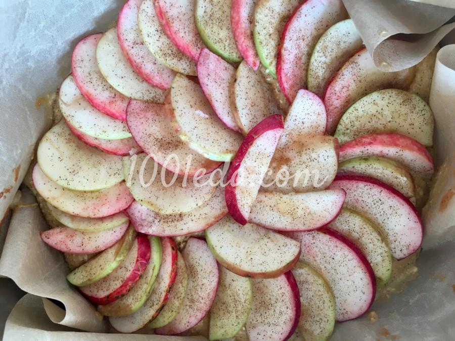 Яблочный пирог с овсянкой и корицей: пошаговый с фото - Шаг №7